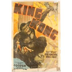 Original King Kong Poster