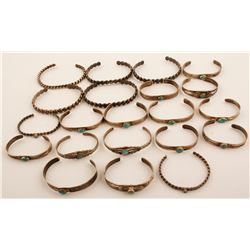 Vintage Navajo and Zuni Bracelets