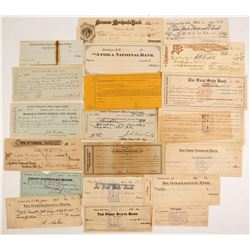Indian Territory Check Collection