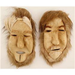 Native American or Alaskan Face Masks (2)