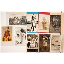 Native American Postcard Collection (Many Real Photo)