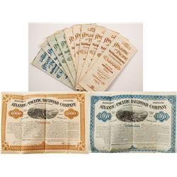 Atlantic & Pacific Railroad (Western Division) Bonds (10)
