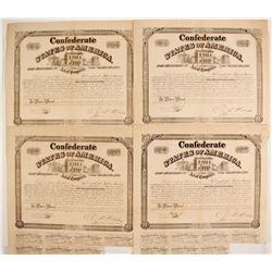 Confederate States of America Bonds (4)