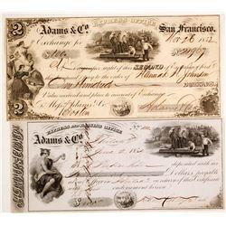 Adams Express Co. Notes