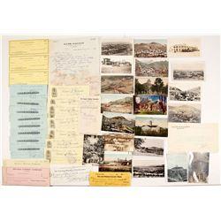 Nevada Checks & Postcards