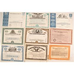 Assorted Stock Certs (Approx 75)