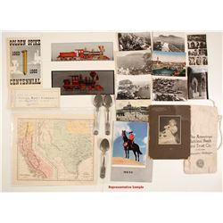 Grab Bag of Antique/Vintage Items & Ephemera