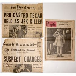 Kennedy Assassination Newspapers