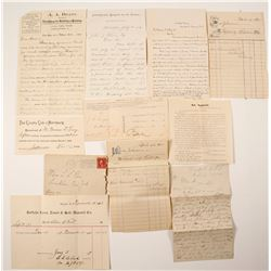 Misc. US Correspondence & Ephemera