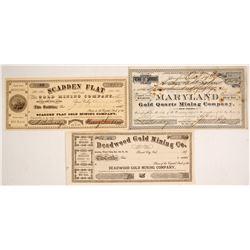 Mining Stock Certificates
