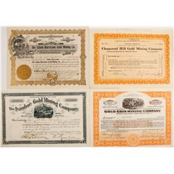 Stock Certs. Misc. Colorado, Arizona (4)