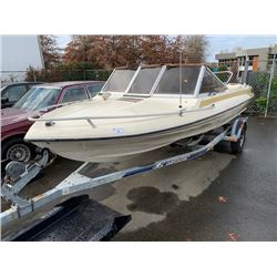 GLASTRON BOAT WITH EZ LOADER TRAILER