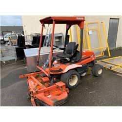 2001 KUBOTA F3060 TRACTOR, ORANGE, VIN # 30736