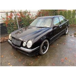 1999 MERCEDES E320W, BLUE (BLACK), 4DRSD, GAS, AUTOMATIC, VIN#WDBJF65H3XA839860, 189,449KMS,