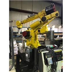 ROBO WORX - FANUC ROBOT S-420F MATERIAL HANDLING FLOOR MOUNT 360 DEGREE ARTICULATING ROBOTIC ARM