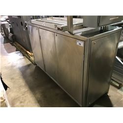 STAINLESS STEEL INDUSTRIAL FOOD WARMING CABINET WITH CONTROLLER (NO KEYS)