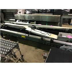 "UNIVEYOR 136"" X 48"" CONVEYOR WITH SEW-EURODRIVE MOTOR AND POWER SUPPLY"