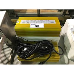 3 1000W DIMMABLE GOLD ELECTRONIC LIGHTING BALLAST