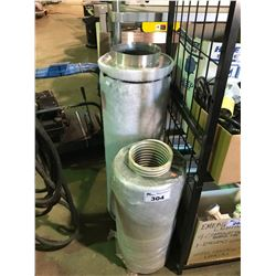 2 INDUSTRIAL STAINLESS FILTERS