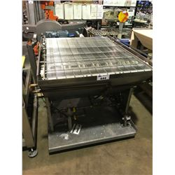 MOBILE STAINLESS STEEL CONVEYOR CHOCOLATE COOLING STATION ( CONNECTS TO LOT 53 PANZER - ROBER )