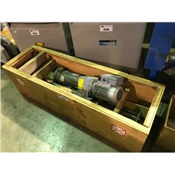 CRATE OF ASSORTED BALDOR AND SEW-EURODRIVE MOTORS WITHE SEAL MASTER SEALING SYSTEM