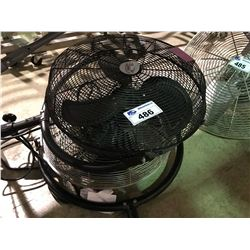 DAYTON AND LFI LARGE INDUSTRIAL FANS