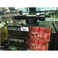 6 UVONAIR 5000 ODOR ELIMINATORS