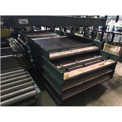 "ASSORTED 37"" UNIVEYOR CONVEYOR BEDS AND LEGS"