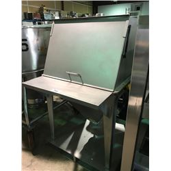 STAINLESS STEEL SEPARATOR WITH AGITATOR