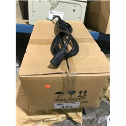 "BOX OF 30 12"" ADHD POWER CORDS WITH FEMALE CONNECTOR"