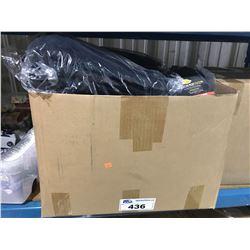 BOX OF FABRIC 10G PLANT POT BAGS
