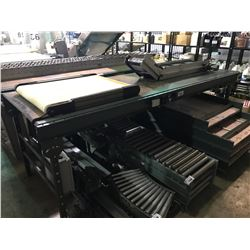 "UNIVEYOR  118"" X 37"" POWERED CONVEYOR SYSTEM"