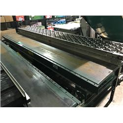 "UNIVEYOR  118"" X 37"" POWERED CONVEYOR SYSTEM WITH SWITCH BOX"