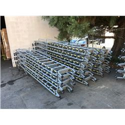 COTTERMAN 9 STEP INDUSTRIAL WAREHOUSE LADDER