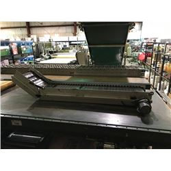 DORNER POWERED TILTED SECTION SMALL CONVEYER SYSTEM