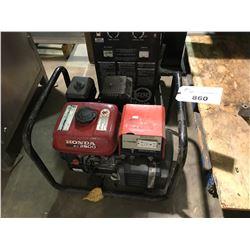 HONDA EZ 2500 GAS POWERED GENERATOR