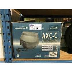 "AXC-C PRE-WIRED XC 300B-C 12"" INLINE FAN"