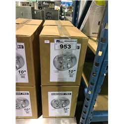 "4, 10"" 2 SPEED INLINE DUCT FANS"