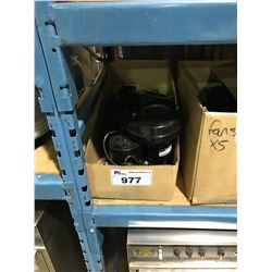 BOX OF 5 FASCO 3200B RPM MINI FANS
