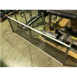 """STAINLESS STEEL 73"""" X 23"""" SIFTING TABLE ATTACHMENT"""
