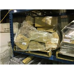 PALLET OF ASSORTED DUCTING PARTS & HARDWARE