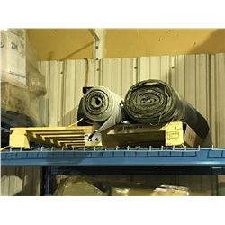 PALLET OF LANDSCAPING FABRIC ROLLS