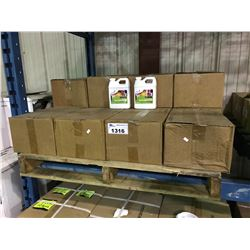 PALLET OF HUMEGA NATURAL AND ORGANIC SOIL CONDITIONER