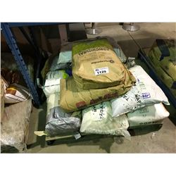 PALLET OF ASSORTED FERTILIZER AND NUTRIENTS
