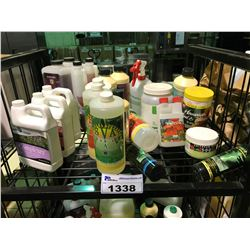 SHELF LOT OF PLANT SUPPLEMENT