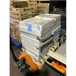 PALLET OF 18 OUT OF BOX  PHILIPS VECTRA LEDALITE COMMERCIAL GRADE LIGHT FIXTURES