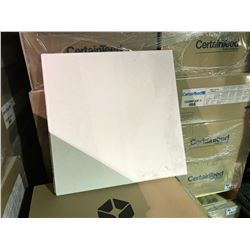 PALLET OF 20 BOXES OF CERTAINTEED ACOUSTIC CEILING TILE