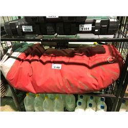 RED INSULATED PALLET FOOD WARMING COVER