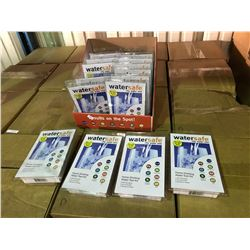 PALLET OF WATERSAFE CITY WATER TEST KITS