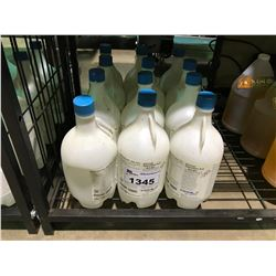 BOTTLES OF 36 - 38% HYDROCHLORIC ACID